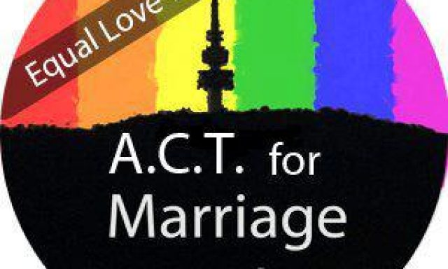 ACT for Marriage Equality (Equal Love Canberra)