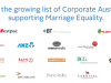 Corporate Supporters engage with Marriage Equality